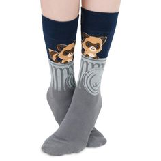 The Masked Bandit strikes again! Get the Stinky Socks only at TeeTurtle! Lol Gg, Stinky Socks, Nerdy Shirts, Funny Socks, Cute, How To Wear, Clothes, Fashion, Silly Socks