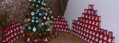 Glass Christmas Ornaments, Christmas Tree, Glass Ball, Advent Calendar, Balls, Holiday Decor, Home Decor, Teal Christmas Tree, Decoration Home