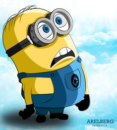 "Minion from ""Despicable Me"" Vector Art by Are Lorenz Bergonia, via Behance"