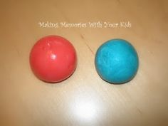 Make your own rubber balls with this easy recipe!       1 tbsp. Elmer's white glue      food coloring      1/2 tsp. Borax powder       3 tbsp. cornstarch      4 tbsp. warm water  for crafternoon or tween program? (from making memories with your kids)
