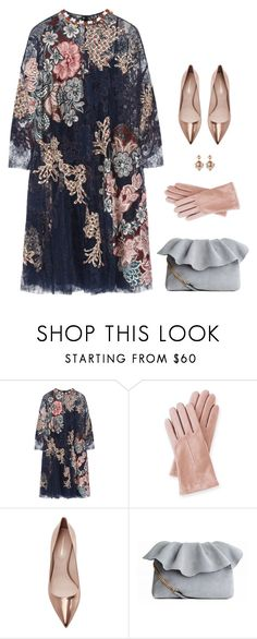 """""""Lace Dreams"""" by kearalachelle ❤ liked on Polyvore featuring Biyan, Mark & Graham and Nicholas Kirkwood"""