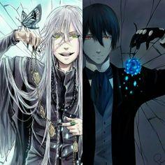 Black butler, Kuroshitsuji, Undertaker, Vincent Phantomhive