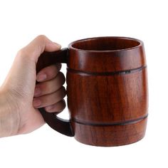 Wooden Beer Mug $ 18.10 and FREE Shipping  Tag a friend who would love this!  Active link in BIO  #foodgasm #breakfast #eat #picoftheday #kitchenware #photooftheday  Buy Kitchen Tools http://amzn.to/2dXYZ7K  Yummery - best recipes. Follow Us! #kitchentools #kitchen