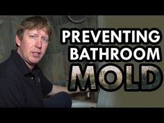 In this video, Michael shares 5 easy ways to remove excess humidity and moisture from your bathroom and shower. Learn more about 5 places mold hangs out: htt. Bathroom Mold Remover, Mold In Bathroom, Types Of Mold, Bathroom Exhaust Fan, Environmental Health, Amazing Bathrooms, How To Remove, Shower, Youtube