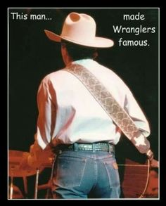 Who else? ?? Off course. ....the King George Strait ♥