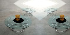 Top 10: tables à café | Les idées de ma maison © Photo: Mariette Clermont #deco #table #basse #accessoire #salon #verre #chrome