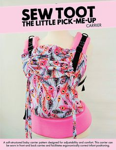 AS SEEN IN babywearing: the magazine PATTERN: The Little Pick-Me-Up (LPMU) CARRIER STYLE: Soft Structured Carrier SKILL LEVEL: Intermediate [3/5] TYPE: Digital Download PAPER SIZE: Letter & A0 FORMAT: PDF CARRIER DESIGN FEATURES - Five Sizes [Baby, Standard, Tweeny Tot™, Toddler, and