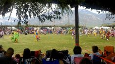 Dance Grounds - Taos Pueblo Pow Wow. http://okeeffecountry.wordpress.com/2012/07/16/taos-pueblo-pow-wow/#