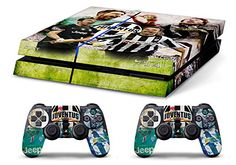 Skin PS4 WhiteP HD BUFFON DEL PIERO ULTRAS JUVENTUS limited edition Playstation 4 COVER DECAL