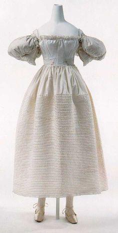 VIRAGO - 1820s-1830s ladies' undergarments: a mega-post