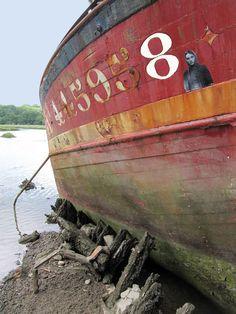Cimetière de bateaux Le Bono Pluneret