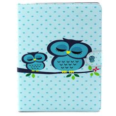 For Apple iPad2/3/4 Animal Pattern Flip Stand Case TPU Leather Cover Card Wallet