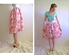 ~Ruffles And Stuff~: Subtle High-Low Skirt Tutorial-from Skirt or from Scratch!
