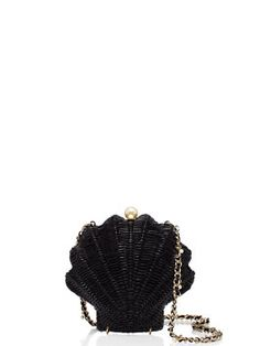 KATE SPADE Splash Out Wicker Clam Shell