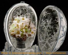 The Imperial Winter Egg by Faberge