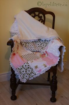 baby quilts....Like this quilt. Takes you to an esty sales site.