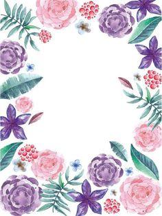 Карточки с цветами