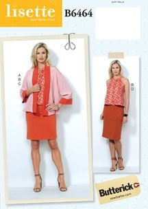 Lisette For Butterick B6464 Sewing Pattern | Shop | Oliver + S