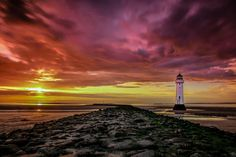 Perch Rock by Jed Pearson on 500px