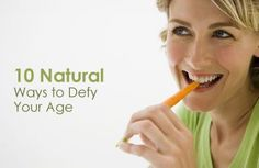 10 Natural Ways to Defy Your Age #antiaging #skincaretips #healthyskin #AntiAgingSkinAdvice #age #beautyskin