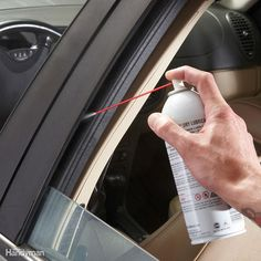 Freezing water can seep into the window tracks and create drag when you try to open the window. That drag can damage the window regulator cables, costing you almost $300. You can avoid the problem entirely by lubricating the window tracks with spray silicone or dry teflon spray lubricant. Lower the window and shoot the spray right into the front and back window track. Apply enough lube so it drips all the way down the track. Then operate the window through several open and close cycles to…