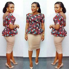 Ankara Skirts for church and the TGIF office outfit - Reny styles - African Fashion Dresses African Fashion Designers, Latest African Fashion Dresses, African Dresses For Women, African Print Dresses, African Print Fashion, Africa Fashion, African Attire, African Wear, African Prints