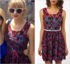"taylorswiftstyle: "" With a fan 