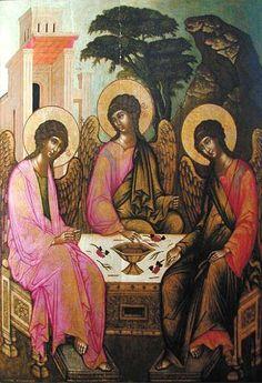 """""""O, Treime-Unime, Dumnezeule, mântuieşte'ne pe noi din înşelăciune şi din ispite şi din primejdii"""" (Din slujba de Marţi din întâia săptămână a Postului Mare - Canonul Sfântului Andrei Criteanul)."""