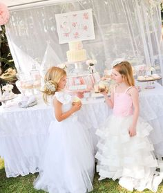 Vintage Shabby Chic Dress Up Party | CatchMyParty.com