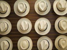 Traditional Panama Hats, Cuenca, Ecuador