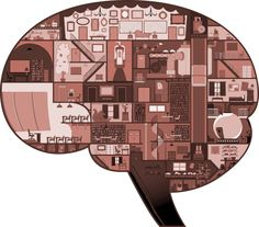 """BRAIN CROSS SECTION FOR BEAU MCCOMBS'AFI FILM """"THE COUNCIL"""", ADOBE ILLUSTRATOR"""