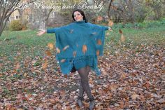 Life, passion and beauty: Outfit: Leaves and flowers of the fall Cover Up, Leaves, Passion, Fall, Flowers, Life, Outfits, Beauty, Dresses