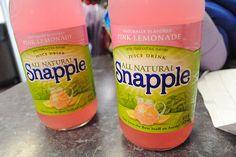 Pink Lemonade flavor of Snapple.