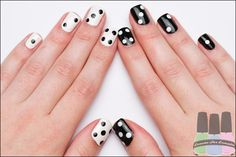 Nail Art - Dominos