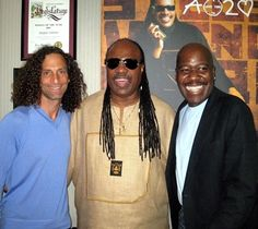 KENNY G , STEVIE WONDER & WILL DOWNING