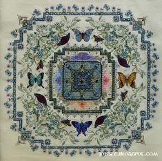 Châtelaine Stitchers: Butterfly Lace Mandala