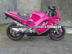 pink honda cbr600 <3