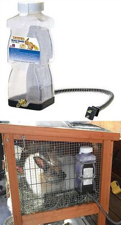 Feeding and Watering 63116: Farm Innovators Model Hrb-20 Heated Water Bottle For Rabbits 32-Ounce 20-Watt -> BUY IT NOW ONLY: $31.37 on eBay!