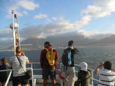 Table Mountain (as seen from Robben Island) - one of the new 7 Wonders of the Natural World