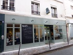 Rachel's is a relatively new restaurant on the Parisian dining scene.  We went there for lunch just last Thursday, and walked away quite satisfied.  http://www.parisinsights.com/restaurants.php