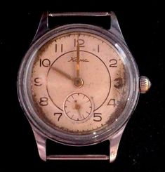 "Rare Vintage Russian USSR ""Kama"" mecanical 1CCZ watch 17 stones. #Kama"