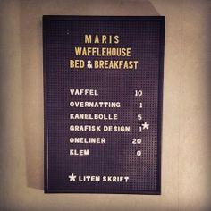Julegave til: Mari Fra: Mari Bed & Breakfast, Signs, Letter Board, Lettering, Party, Fiesta Party, Shop Signs, Letters, Parties