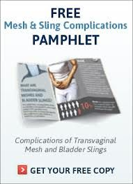 Mesh and Sllng complications Pamphlet