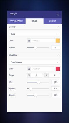 Text Editor UI by Renato Mattos