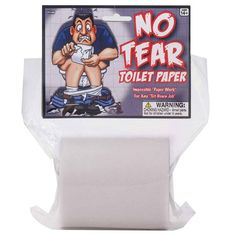 No Tear Toilet Paper Roll Prank Joke Gag Gift-Tear Resistant Look/Feels Real Gag Gifts For Women, Doctor Who Shirts, Head Up Display, Practical Jokes, Freak Out, Toilet Paper Roll, Novelty Items, The Victim, Funny Gifts