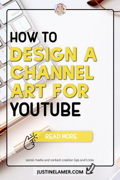 I am writing this blog post because I wanted to help you figure out how to design a Channel Art for YouTube.  When I started my YouTube Channel, I had no idea what to do about my YouTube Banner.  I tried many times to create one that would fit perfectly on a computer but also a phone. Without success!  Often, I got tired by the design I made, and I always wanted to update or change my Channel Art.  If I had known the basics from the beginning, It would have saves me some time!  Are you… How To Start Youtube, Start Youtube Channel, You Youtube, Social Media Services, Social Media Content, Youtube Editing, Video Editing, Good Photo Editing Apps, Youtube Banners