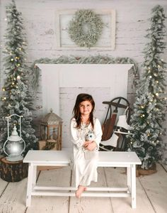 holiday Photography styling - Classic Mantle With Trees - Photography Backdrop - Christmas Backdrop - Holiday Backdrop - Poly Paper Backdrop - Fabric Backdrop Family Christmas Pictures, Christmas Tree Farm, Christmas Minis, Christmas Photos, Christmas Portraits, Christmas Photography Backdrops, Christmas Backdrops, Holiday Photography, Family Photography