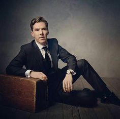 Benedict Cumberbatch by Mark Seliger