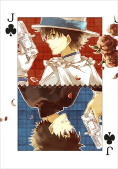 Kaitou Kid a.k.a. Kuroba Kaito - Magic Kaito (2014) and Detective Conan (Case Closed).
