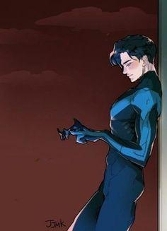 J Birds, Nightwing And Starfire, Richard Grayson, Hq Dc, Univers Dc, Bat Boys, Dc Comics Characters, Batman Universe, Batman Family